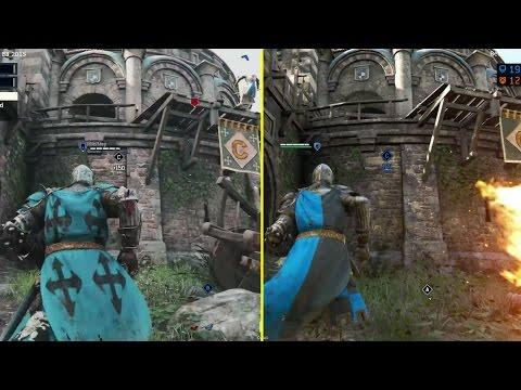 For Honor E3 2015 vs 2017 PS4 Beta Graphics Comparison