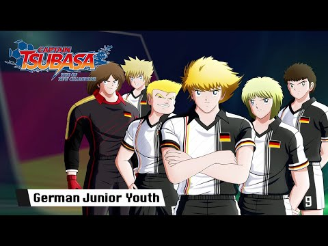 Captain Tsubasa: Rise of New Champions - German Junior Youth Trailer - PS4/PC/SWITCH