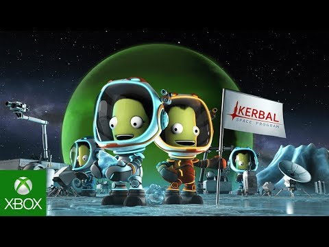 Kerbal Space Program Enhanced Edition: Breaking Ground Expansion Announcement Trailer