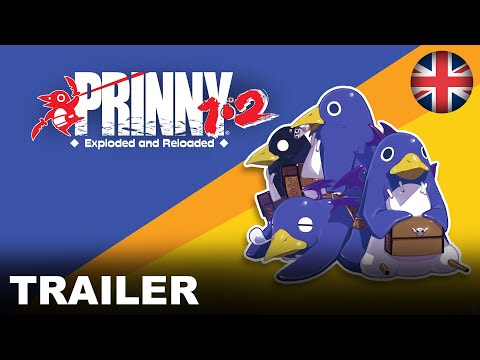 Prinny 1•2: Exploded and Reloaded - Prinny 2 Spotlight Trailer (Nintendo Switch) (EU - English)