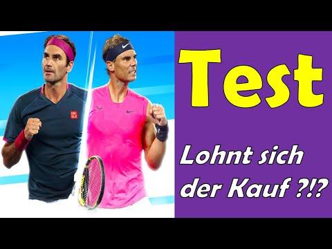 Tennis World Tour 2 für PS4 - Test DEUTSCH !!! Lohnt sich der Kauf ?!? 🎾 [German/Deutsch]