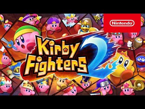 Jetzt erhältlich: Kirby Fighters 2 - Packende Kämpfe mit mehreren Kirbys! (Nintendo Switch)
