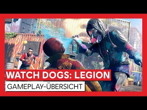 Watch Dogs: Legion - Gameplay-Übersicht [OFFIZIELL] | Ubisoft [DE]