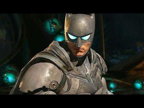 Injustice 2 Batman, Robin & Atrocitus Gameplay