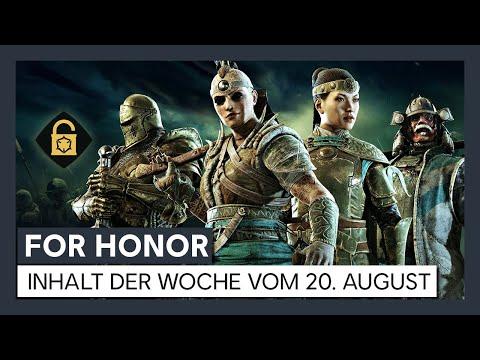 FOR HONOR - INHALT DER WOCHE VOM 20. AUGUST   Ubisoft [DE]