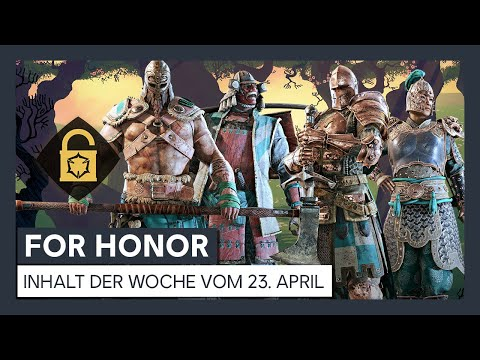 FOR HONOR - INHALT DER WOCHE VOM 23. APRIL | Ubisoft [DE]