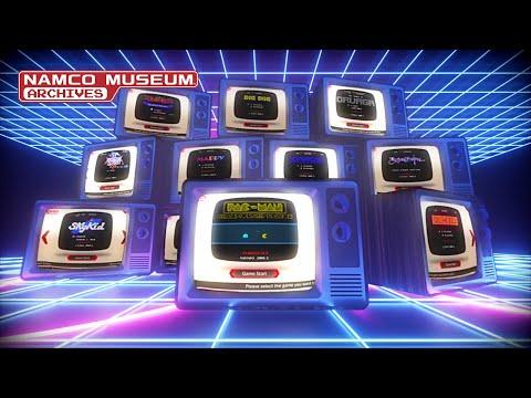 [DE] Namco Museum Archives - Launch Trailer - PS4/XB1/PC/SWITCH