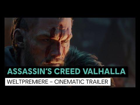 "Assassin's Creed Valhalla: ""Cinematic World Premiere Trailer""   Ubisoft [DE]"