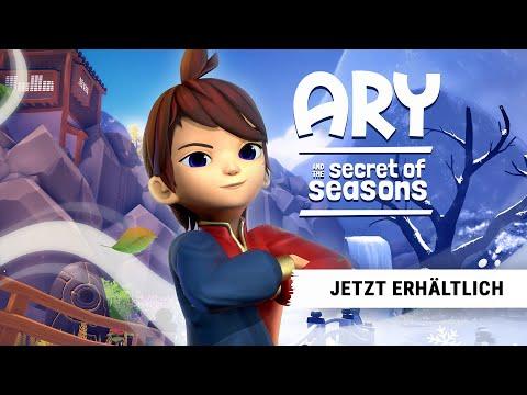 Ary and the Secret of Seasons – Launch-Trailer – Jetzt verfügbar!