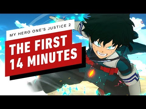 The First 14 Minutes of My Hero One's Justice 2