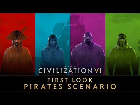 Civilization VI - First Look: Pirates Multiplayer Scenario