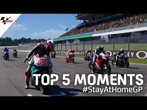 Top 5 moments   #StayAtHomeGP 🏡