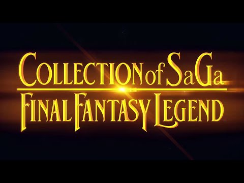 COLLECTION of SaGa FINAL FANTASY LEGEND | Official TGS Trailer