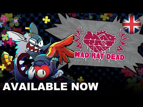 Mad Rat Dead - Launch Trailer (Nintendo Switch, PS4) (EU - English)
