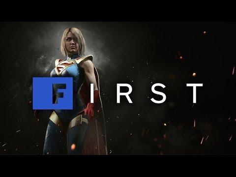 Injustice 2: Supergirl Gameplay Walkthrough (1080 60fps) – IGN First