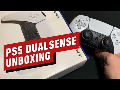 PS5 DualSense Controller Unboxing