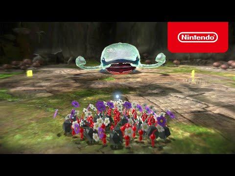 Kostenlose Demo von Pikmin 3 Deluxe - jetzt herunterladen! (Nintendo Switch)