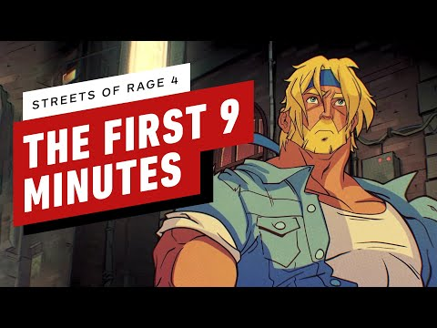 The First 9 Minutes of Streets of Rage 4