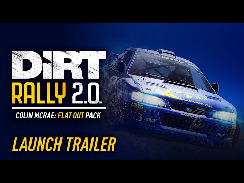 DiRT Rally 2.0 - Colin McRae: FLAT OUT Pack Launch Trailer [USK]