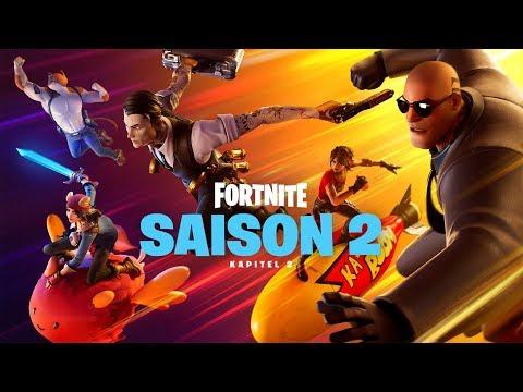 Fortnite Kapitel 2– Saison 2 | Top Secret Launch-Trailer
