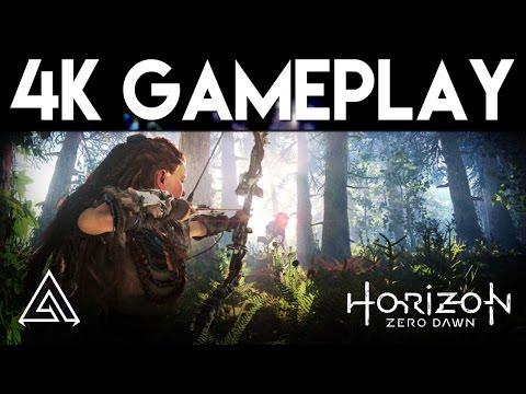 Horizon Zero Dawn | PS4 Pro 4K Gameplay