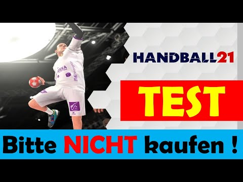 Handball 21 🏐 für PS4 - Test DEUTSCH   Lohnt sich der Kauf ??? [German/Deutsch]