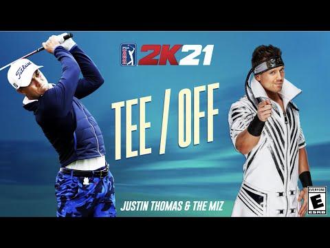 Justin Thomas Talks PGA TOUR 2K21 and challenges WWE's The Miz 1-1