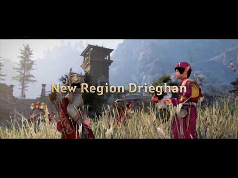 "Black Desert: The New Region ""Drieghan"" Official Trailer (ESRB)"