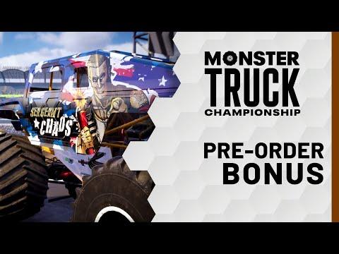 Monster Truck Championship - Pre-Order Bonus: Sergeant Chaos!