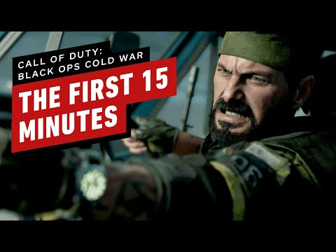 The First 15 Minutes of Call of Duty Black Ops Cold War Gameplay (PC Ultra 4K 60)