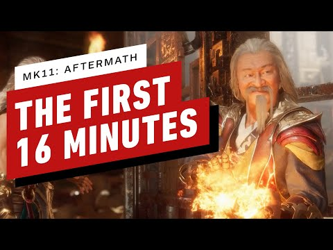 Mortal Kombat 11: Aftermath - The First 16 Minutes