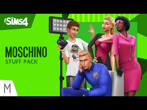 Die Sims™ 4 Moschino-Accessoires-Pack: Offizieller Trailer
