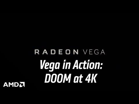 Vega in Action: DOOM® at 4K