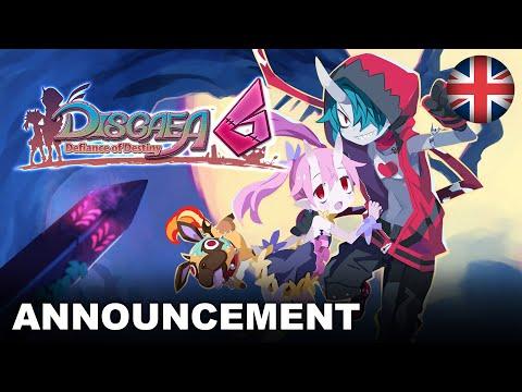 Disgaea 6: Defiance of Destiny - Announcement Trailer (Nintendo Switch) (EU - English)