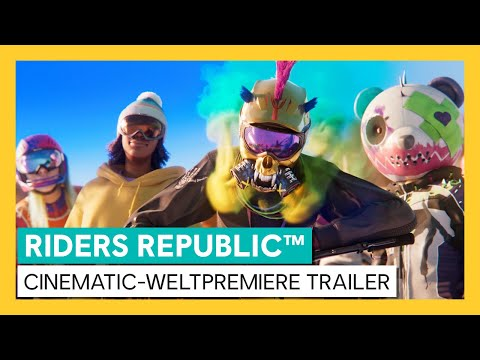 RIDERS REPUBLIC™ - CINEMATIC-WELTPREMIERE TRAILER| Ubisoft [DE] | Ubisoft [DE]
