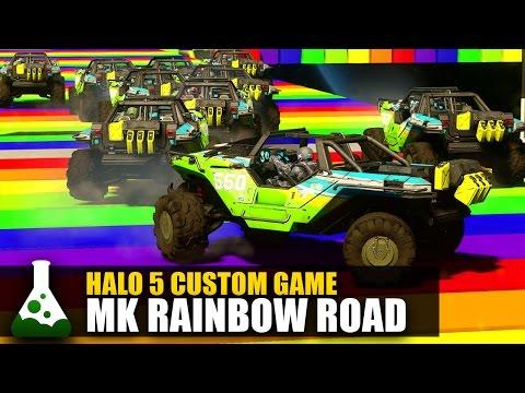 Halo 5: Game Night - Rainbow Road SNES