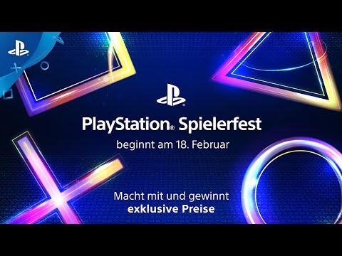 PlayStation Spielerfest | Gewinnt exklusive Preise