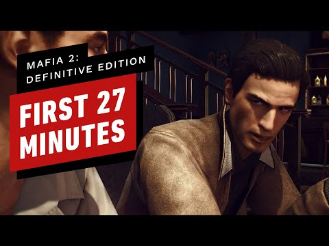 The First 27 Minutes of Mafia 2: Definitive Edition Gameplay (4K 60FPS)