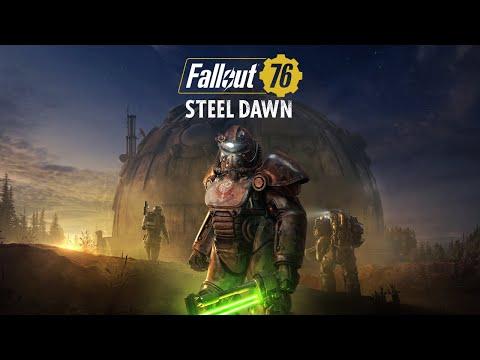 "Fallout 76: Stählerne Dämmerung – Enthüllungstrailer ""Rahmani, Shin und Valdez"""