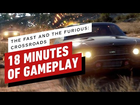 The First 18 Minutes of The Fast and the Furious: Crossroads Gameplay
