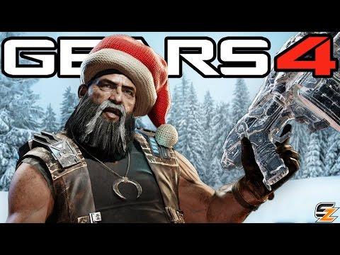 Gears of War 4 Gearsmas - New Characters, Weapon Skins, UIR Packs & More!