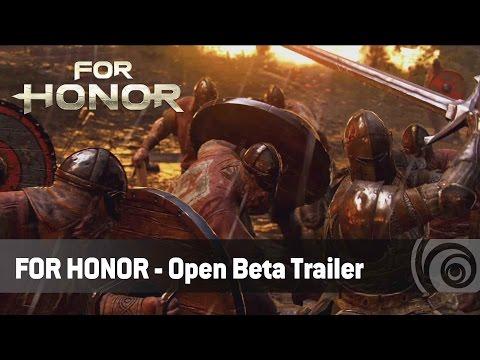 For Honor - Open Beta Trailer | Ubisoft [DE]