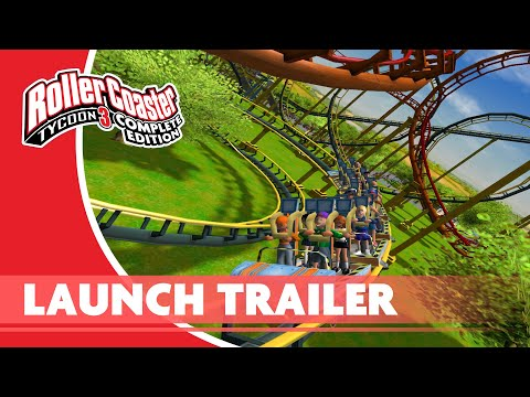 RollerCoaster Tycoon 3: Complete Edition Nintendo Switch Launch Trailer