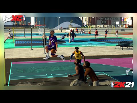 NBA 2K21: 2K Beach + MyCareer - Trailer