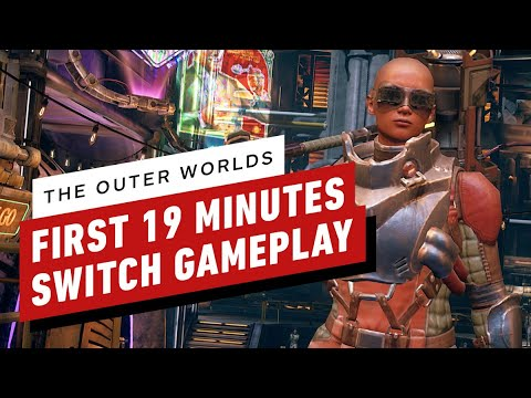 The First 19 Minutes of The Outer Worlds Gameplay on Nintendo Switch
