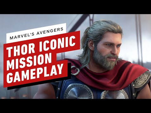 Marvel's Avengers - 14 Minutes of Thor Gameplay