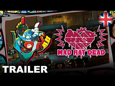 Mad Rat Dead - Gameplay Trailer (Nintendo Switch, PS4) (EU - English)
