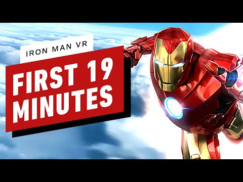 Iron Man VR Demo - The First 19 Minutes of Gameplay