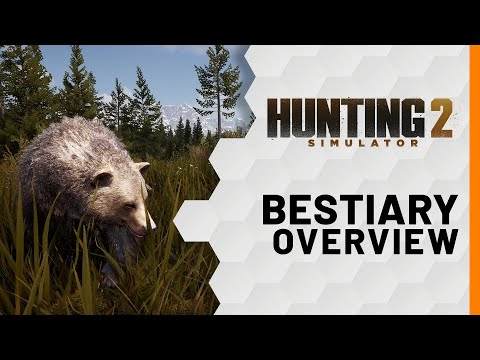Hunting Simulator 2 - Bestiary Overview [USK]