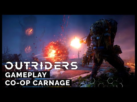 Outriders - Co-op Carnage Gameplay